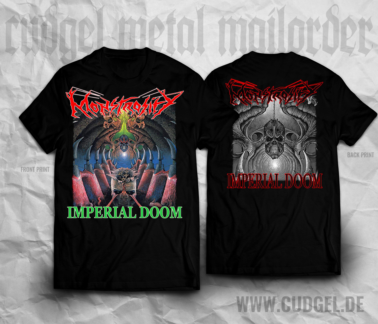 MONSTROSITY-imperial-doom-T-Shirt