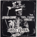 UNHOLY GRAVE / TOTAL FUCKING DESTUCTION - split 7""