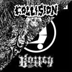 """COLLISION / THE ROTTED - split 7"""""""