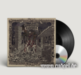 DESERTED FEAR - kingdom of worms LP+CD black