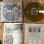 CHAPEL OF DISEASE - the mysterious ways of repetitive art LP amber