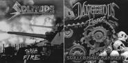 "DANGEROUS FORCE / SOLITUDE - split 7"""