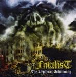 FATALIST - the depths of inhumanity LP+CD black