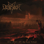 DESASTER - the oath of an iron ritual LP gold