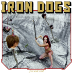 IRON DOGS - free and wild LP