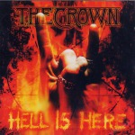 CROWN, THE - hell is here LP red black marbled