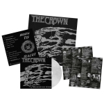 CROWN, THE - deathrace king LP clear white