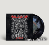 "HELLWITCH - at rest 7"" black"