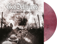 GOD DETHRONED - the world ablaze LP violet