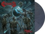 ENTRAILS - world inferno LP blue grey