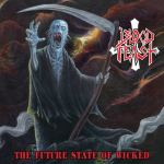 BLOOD FEAST - the future state of the wicked LP blue splatter