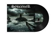 """SORCERER - sirens 7"""" black"""