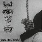 """V.A. BLACK METAL WARFARE - 4 way split 7"""""""
