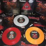 """WOMBBATH / OBSCURE INFINITY - split 7"""" orange"""