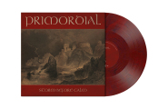 PRIMORDIAL - storm before calm LP wine red marbled