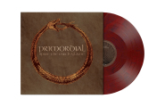 PRIMORDIAL - spirit the earth aflame LP wine red marbled