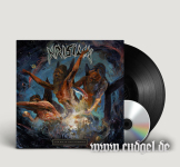 KRISIUN - scourge of the enthroned LP+CD black