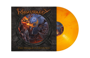 MONSTROSITY - the passage of existence LP orange red marbled