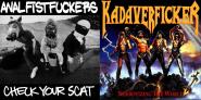 "KADAVERFICKER / ANAL FISTFUCKERS - split 7"""