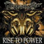 MONSTROSITY - rise to power LP black