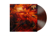 KETZER - cloud collider LP red brown marbled