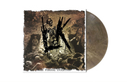 LIK - mass funeral evocation LP grey brown marbled