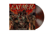 EXUMER - hostile defiance LP red- brown black marbled