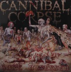 CANNIBAL CORPSE - gore obsessed LP grey brown marbled