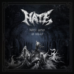 HATE - auric gates of veles LP blue marbled