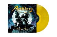 ARTILLERY - the face of fear LP yellow blue marbled