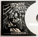 SACROSCUM - drugs & death LP white