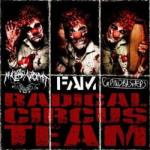 V.A. NUCLEAR VOMIT / FAM / GRINDBASHERS - radical circus team 3way split CD