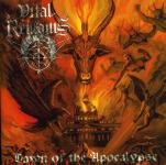 VITAL REMAINS - dawn of the apocalypse CD
