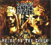 NAPALM DEATH - order of the leech CD