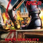 RAZOR - open hostility CD+Schuber