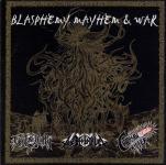 V.A. BLASPHEMY MAYHEM & WAR - 3 way split CD