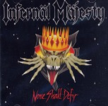 INFERNAL MAJESTY - none shall defy CD+Schuber