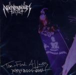 NACHTMYSTIUM - the first attacks-demos  CD