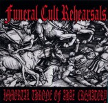 V.A. FUNERAL CULT REHEARSALS - 3 way split CD