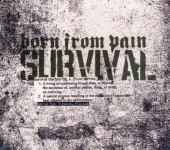 BORN FROM PAIN - survival Lim.CD+Schuber