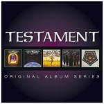 TESTAMENT - original album series 5CD-Box