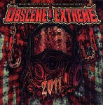 V.A. OBSCENE EXTREME 2011 - sampler CD