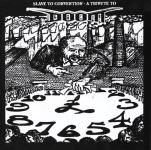 V.A. SLAVE TO CONVENTION A TRIBUTE TO DOOM - sampler CD