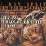 V.A. 3 WAY BRUTALMAGEDDON - split CD