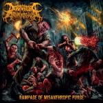 DISGRUNTLED ANTHROPOPHAGI - rampage of misanthropic purge CD