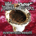 VAGINAL DIARRHOEA / BLOODY DIARRHOEA - split CD