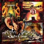 MINCING FURY AND GUTTURAL CLAMOUR OF QUEER... - lamentations eye for devils CD