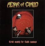 ALTAR OF GIALLO - grind musick for giallo maniacs MCD