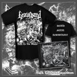 GRAVEYARD - back to the mausoleum CD+T-Shirt Bundle L