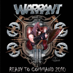 WARRANT - ready to command 2010 CD